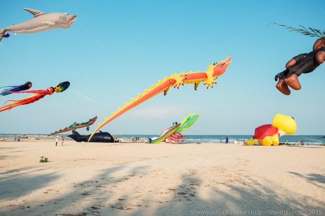 Увлечение воздушными змеями в Таиланде